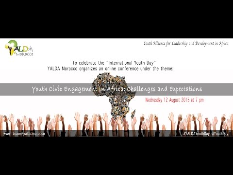 Webinar YALDA Morocco   Youth Civic Engagement in Africa