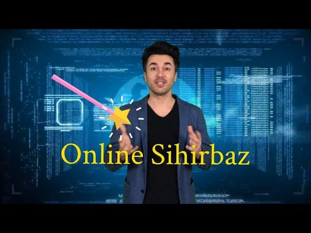 Online Sihirbaz / İnternet Zoom İnteraktif Sihirbazlık Gösterileri