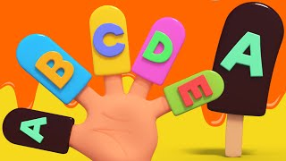 alphabets finger family | alphabet ABC song | nursery rhymes kids tv