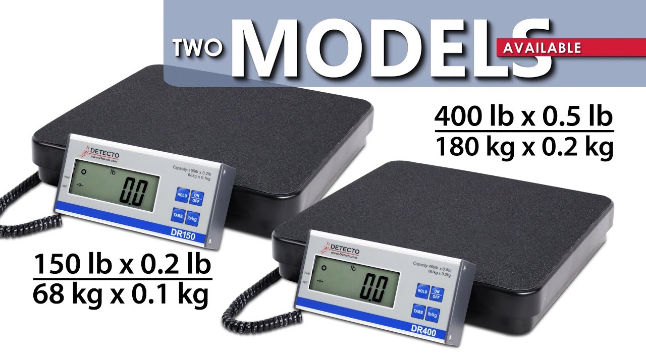 Dr Series Portable Scales Demo Video Youtube