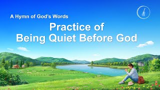 """Practice of Being Quiet Before God"" 