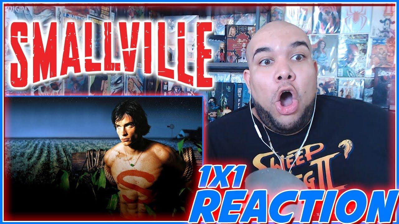 "Download Smallville Reaction Season 1 Episode 1 ""Pilot"" 1x1 REACTION!!!"