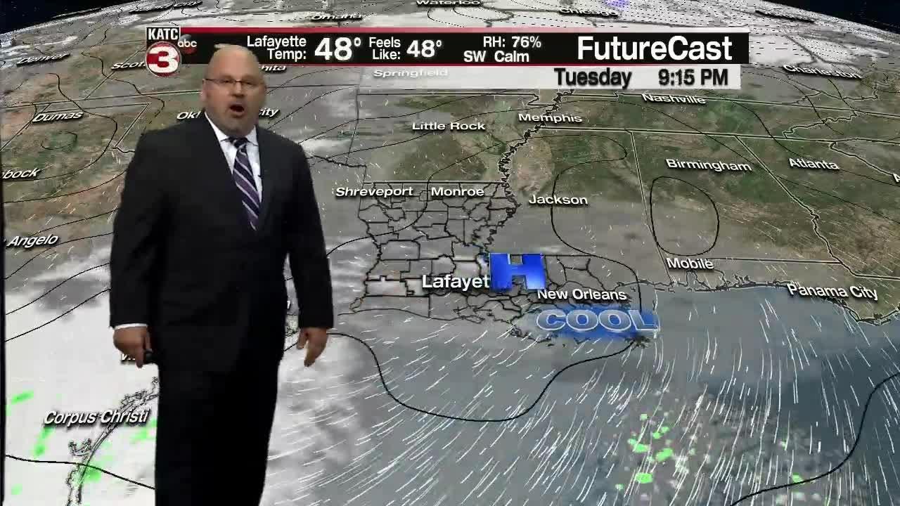 Rob's Monday 6pm Weather Forecast