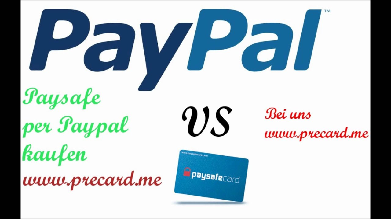 Paysafecard Гјber Paypal