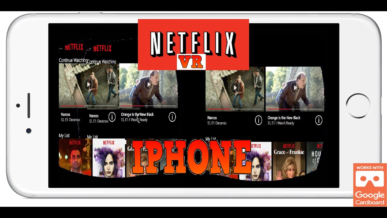 How to use Netflix VR on IOS Iphone With Google Cardboard Easy Setup Trinus  VR for Iphone