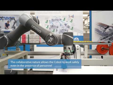Traceability 4.0 with the OMRON TM cobot