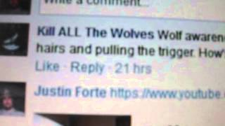 Wolf Hater Facebook Page Still Stalking, Bullying, Threatening My Dog, And Harassing Me