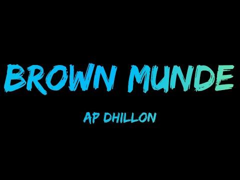brown-munde-[lyrics]---ap-dhillon