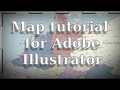 Map tutorial for Adobe Illustrator
