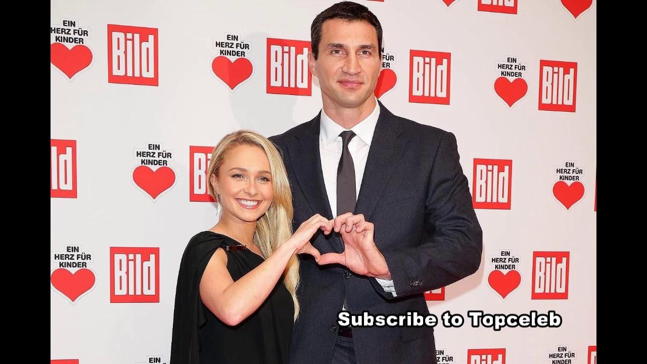 Hayden Panettiere With Her Handsome Husband Wladimir Klitschko