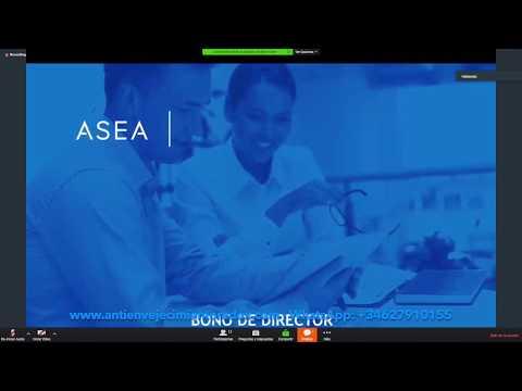 ASEA España Formación: Plan de Compensación y Back Office por Roberto Solis 24-8-17