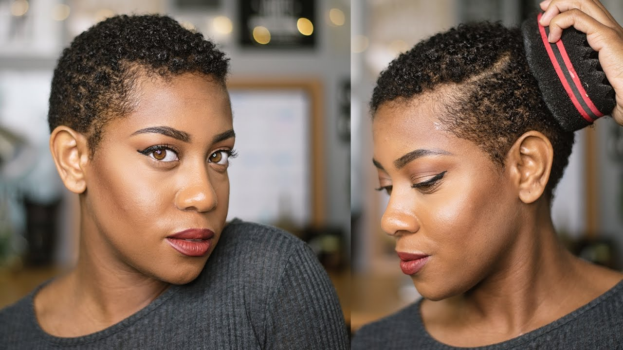 How To Styling Big Chop Defining My Twa 4b 4c Wash N