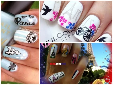 - Paris Nail Art Designs - 25 Beautiful Ideas - YouTube