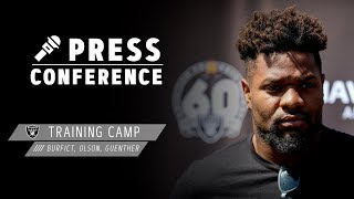 Burfict, Olson, Guenther Training Camp Presser - 8.18.19