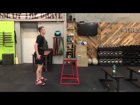 Weighted (Vest) Box Jump