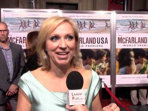 LeighAllyn Baker at the premiere of Disney's McFarland