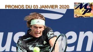 PRONOS TENNIS (atp cup) / NBA DU VENDREDI 03 JANVIER 2020 !!! PARIS SPORTIFS !!!!