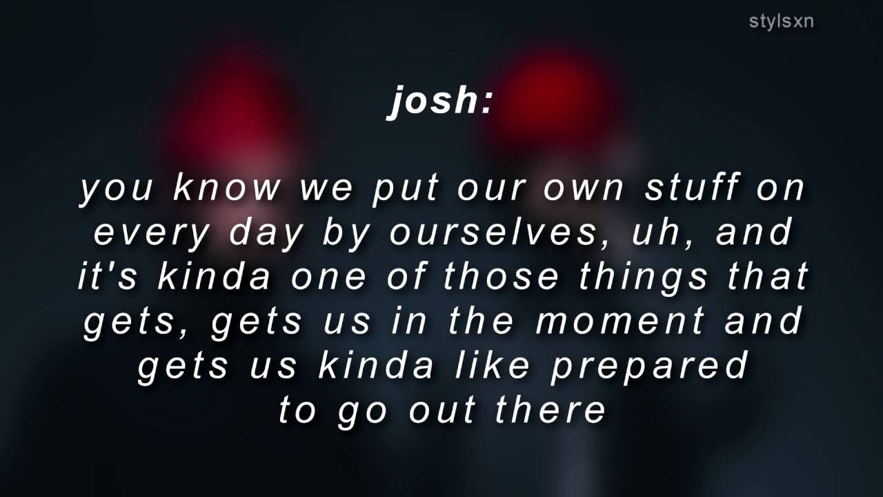 josh duns red eyeshadow meaning youtube
