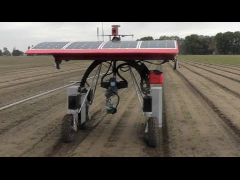 Australian Weed-Killing Robots: New machinery could change face of farming