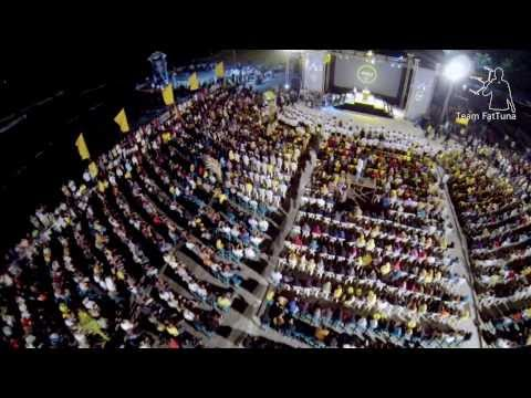 Maldivian Democratic Party (MDP) Rally 12th August 2013 - Aerial view - Clip #1