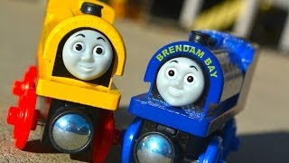 Bill & Ben - New 2014 Thomas The Tank Engine Wooden Railway Toy Train Review By Fisher Price Mattel