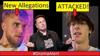 Jake Paul NEW Allegations! #DramaAlert Bryce Hall ATTACKED by College Kids! Fousey hits one! NINJA!