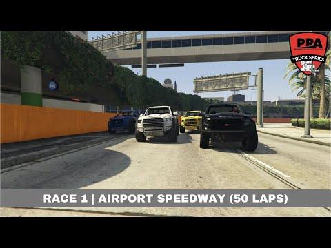 [PRA] GTAV Truck League | Race 1: Airport Speedway (50 Laps)