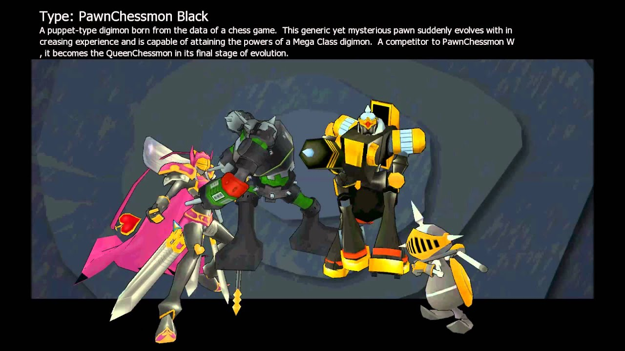 digimon master online hatching 4 5 pawnchessmon black youtube. Black Bedroom Furniture Sets. Home Design Ideas