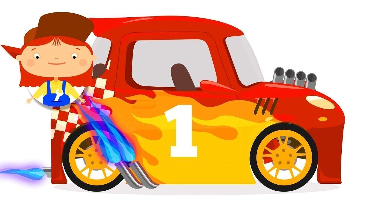كرتون أطفال الدكتورة مكويلي تقوم بتحويل سيارة عادية الى سيارة سباق
