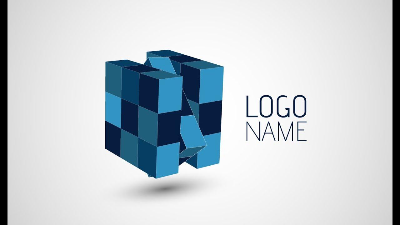adobe illustrator cc 3d logo design tutorial rubix youtube