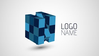 Adobe Illustrator CC | 3D Logo Design Tutorial (Rubix)