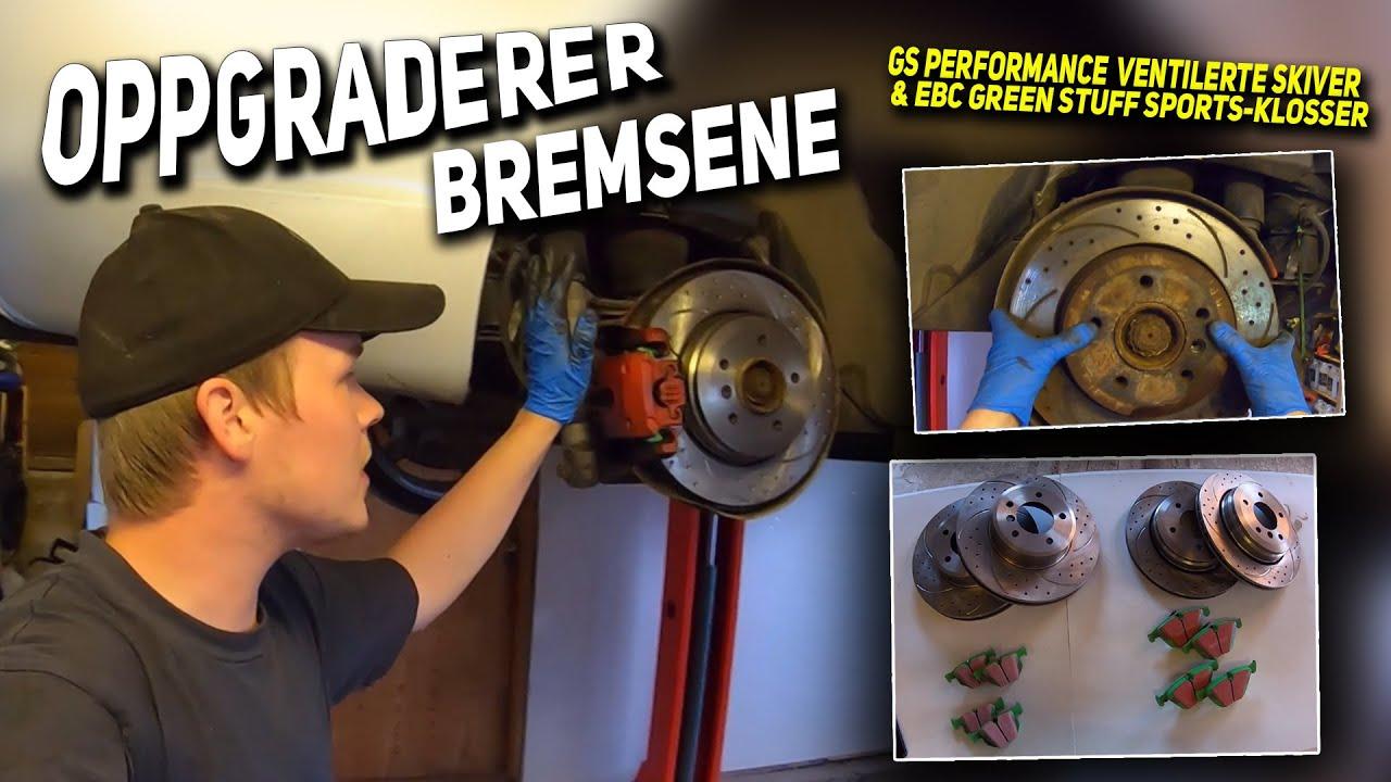 Hvordan bytte bremser | Ventilerte skiver og Green-Stuff klosser