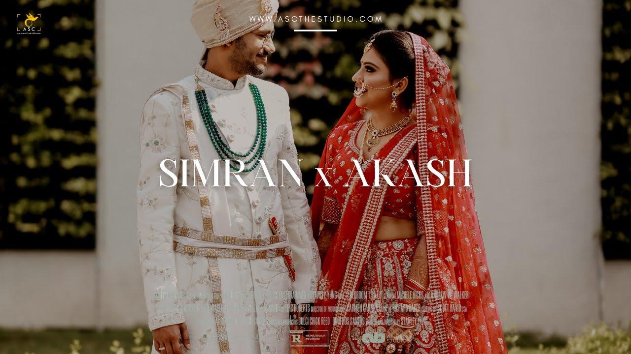 Simran & Akash | Wedding Glimpse | Abhishek Sanyal Clickography (ASC)