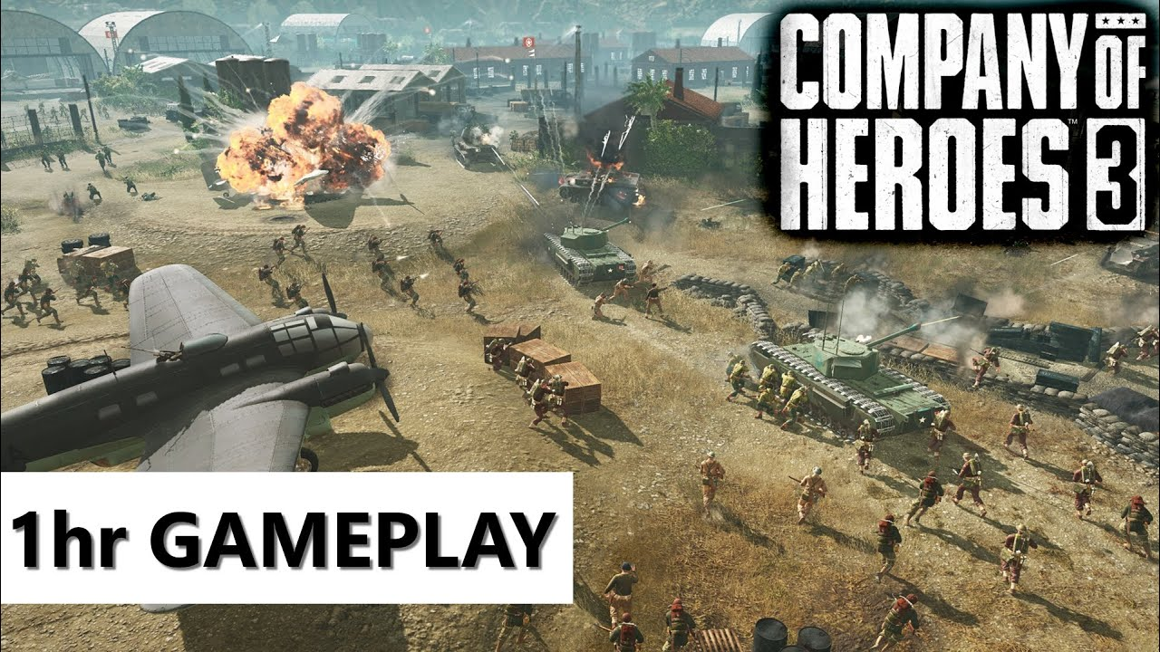Company of Heroes 3 Pre-Alpha Gameplay with HelpingHans
