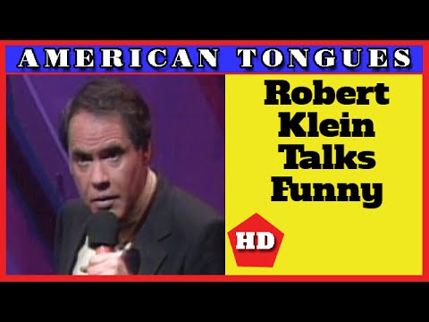 Robert Klein riffs on Southern accents -American Tongues episode #8