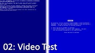 Windows 2000 vs Windows ME: Video Test
