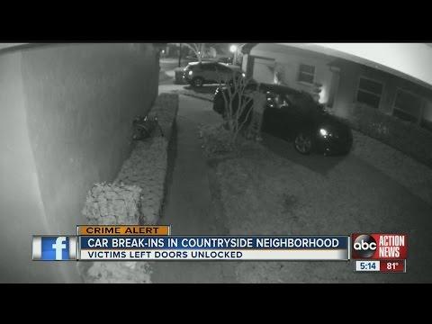 Teens caught on camera rummaging through cars in Countryside neighborhood