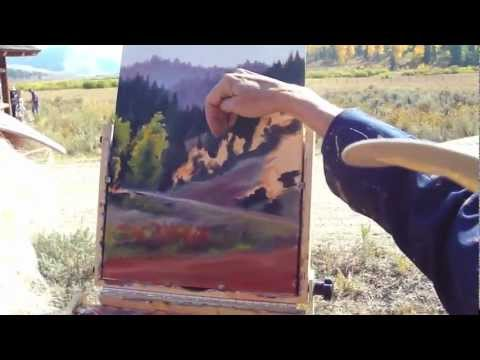 SKB Plein Air in Wyoming 2012