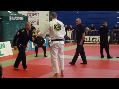 Johannes Wieth vs Chico Mendes - FINALS - IBJJF London Open 2014 - Black Adult - Heavy