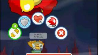 Chibi Knights - Demon Beast fight