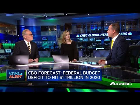 Federal Budget Deficit To Hit $1 Trillion In 2020: CBO Forecast