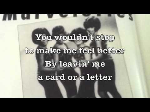 Please Mr. Postman - The Marvelettes // Lyrics-video by Motley Stew