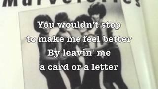 Please Mr. Postman - The Marvelettes // Lyrics-video by Motley Stew