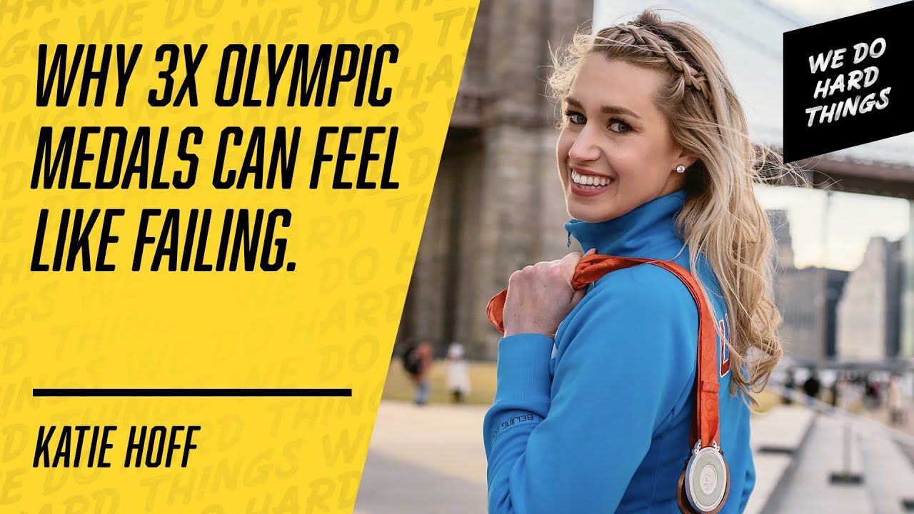 Try, Adapt & Embrace The Suck | Olympian Katie Hoff on the We Do Hard Things Podcast