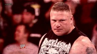 John Cena vs Brock Lesnar Promo - Extreme Rules 2012