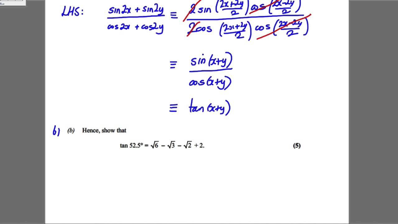 Core  Trigonometry Solomon Paper D Q YouTube Maxresdefault Watch?vgKCFWlHGps