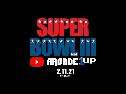 Arcade1up Super Bowl Halftime Special from Retro Ralph