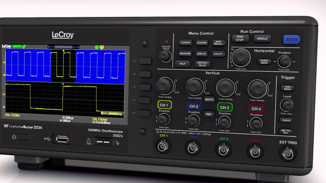 Teledyne LeCroy WaveAce 2024 Oscilloscope XP