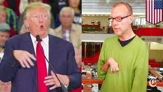 Donald Trump mocks Serge Kovaleski, John Kasich campaign ad compares Trump to Hitler - TomoNews