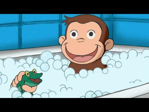 Curious George 🐵 Muddy Monkey 🐵 Kids Cartoon 🐵 Kids Movies | Cartoons for Kids - Познавательные и прикольные видеоролики